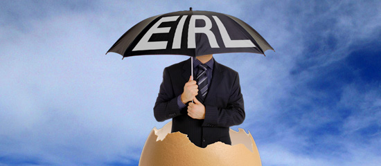 L'entreprise individuelle à responsabilité limitée (EIRL)